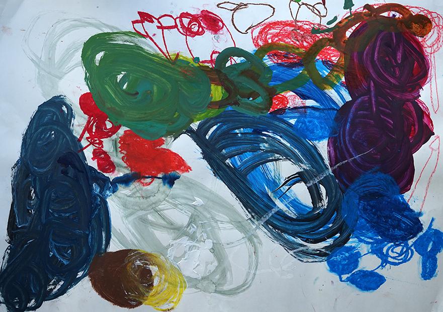 Bruce Farnhill - Untitled Round & Round