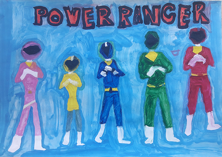 Bryan Lee - Power Rangers