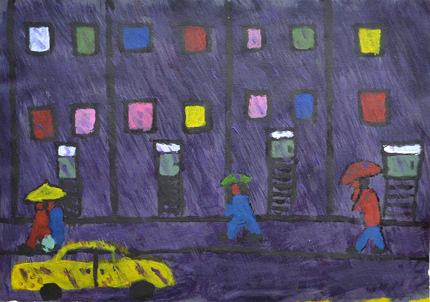 Eddie McMenemy, Purple Rain, 2018