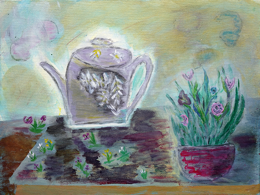 Lorraine Rchardson, Cup of Tea Anyone, 2019
