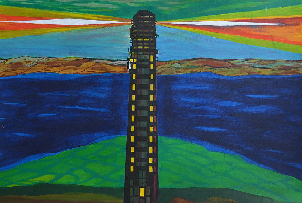 Michael Nathan, Lighthouse,  2017