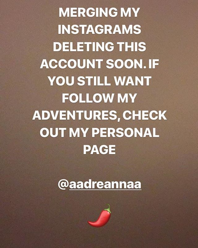 continue to follow me if you don't already @aadreannaa  I do stories now! ❤️