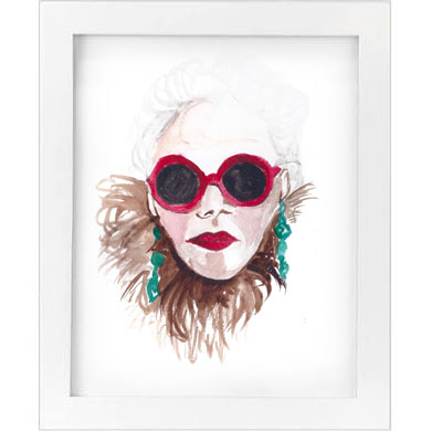 red shades print   SALE! $10