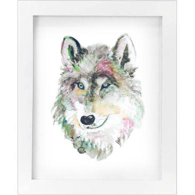 wolf print   SALE! $10