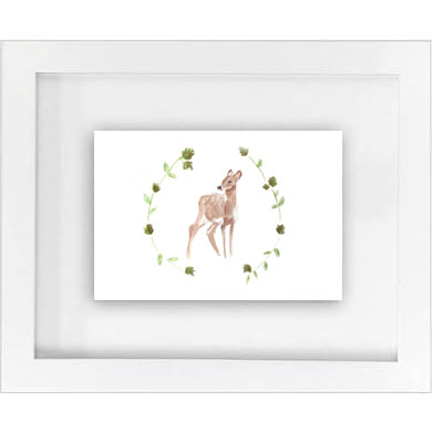 deer w/ garland print   SALE! $10