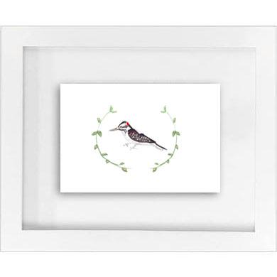 woodland woodpecker w/ garland print   SALE! $10