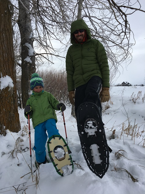More Snowshoeing