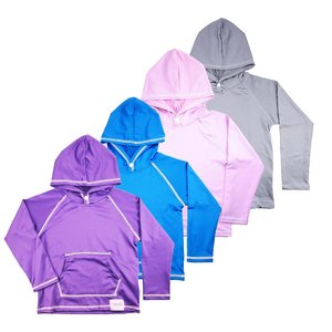 ALSYIQI Boys Girls Sun-Protective Tops Summer UV Protection Hoodie Breathable Coat Jacket