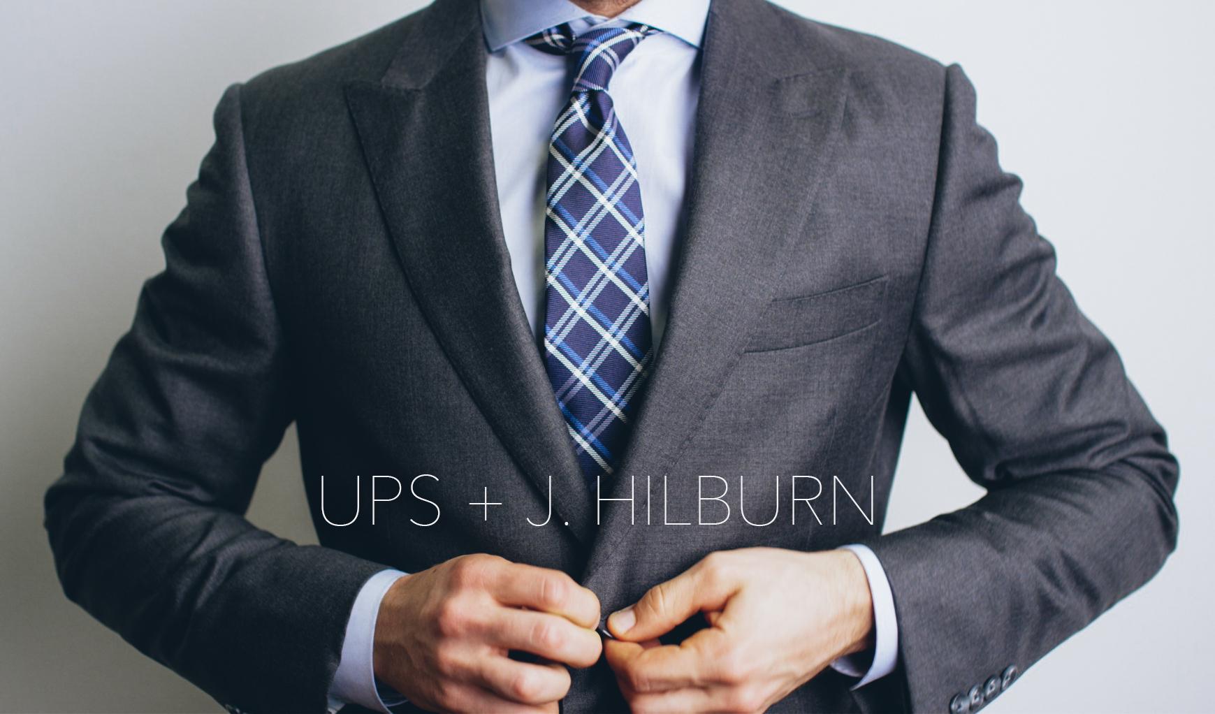 A Tailored Partnership |  UPS + J. Hilburn