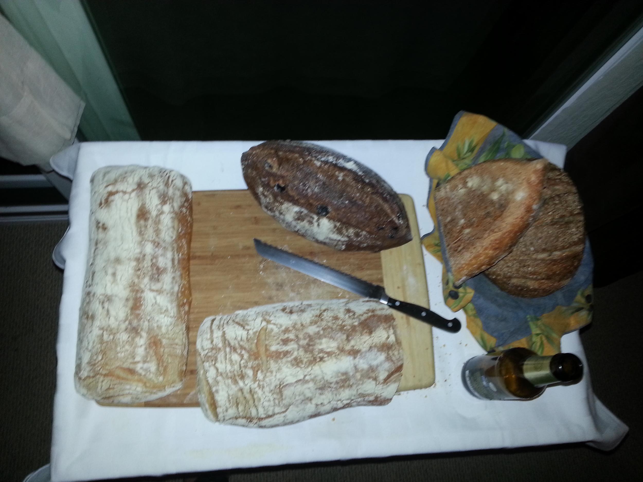 Bread heaven.