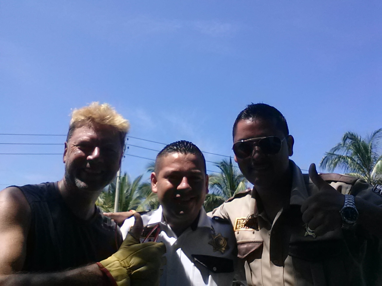 My new (paid) friends from the San Blas PD