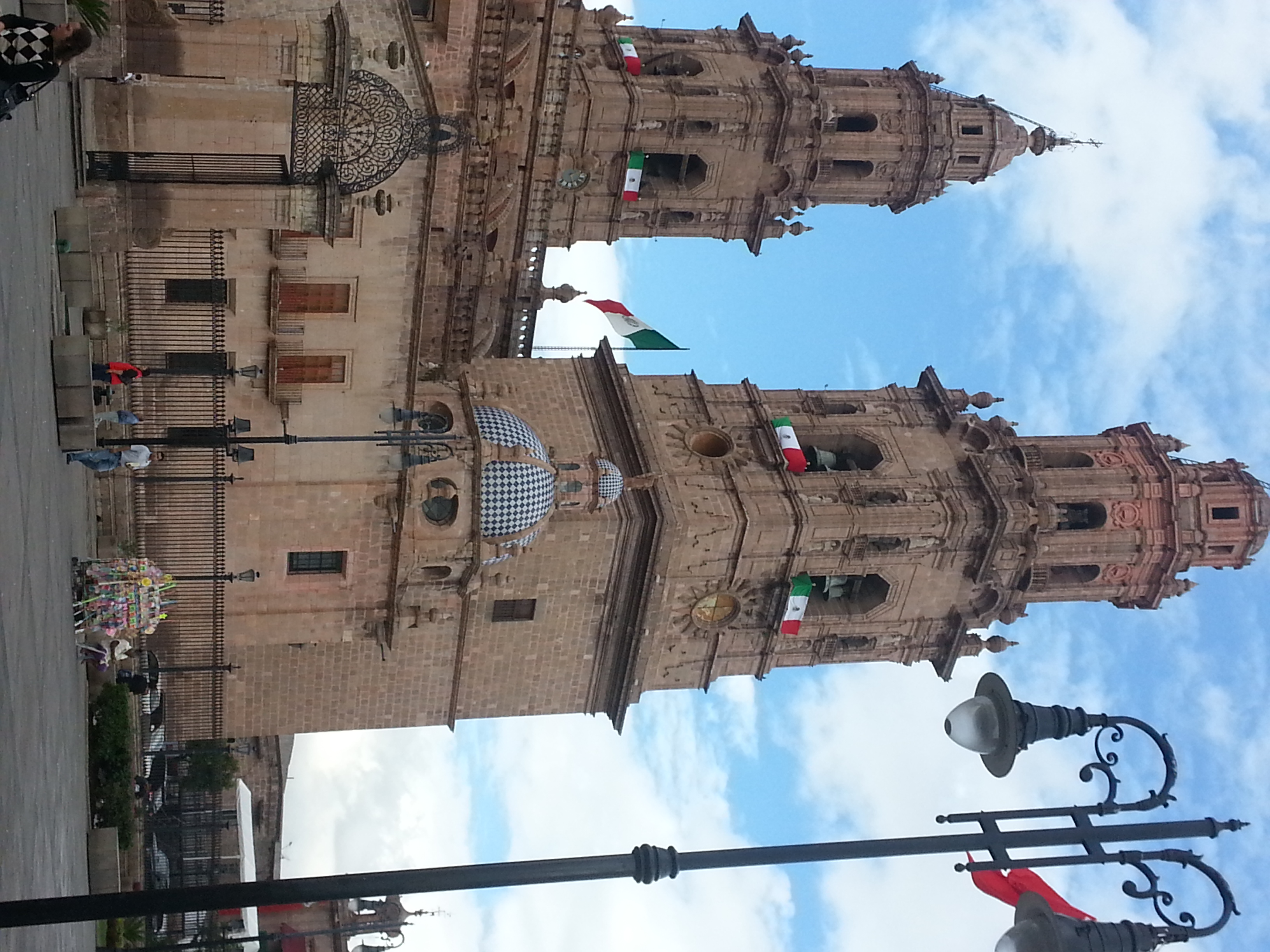 A Basilica...this time in Morelia. Beautiful old city.