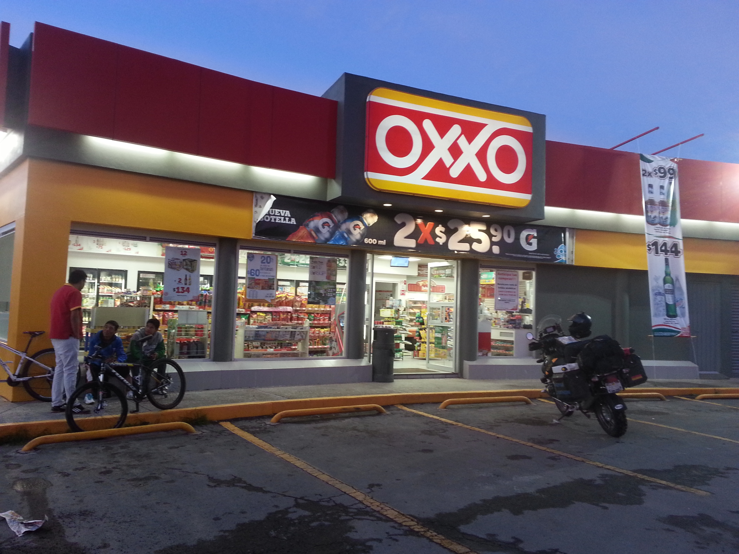OXXO coffee in the morning....