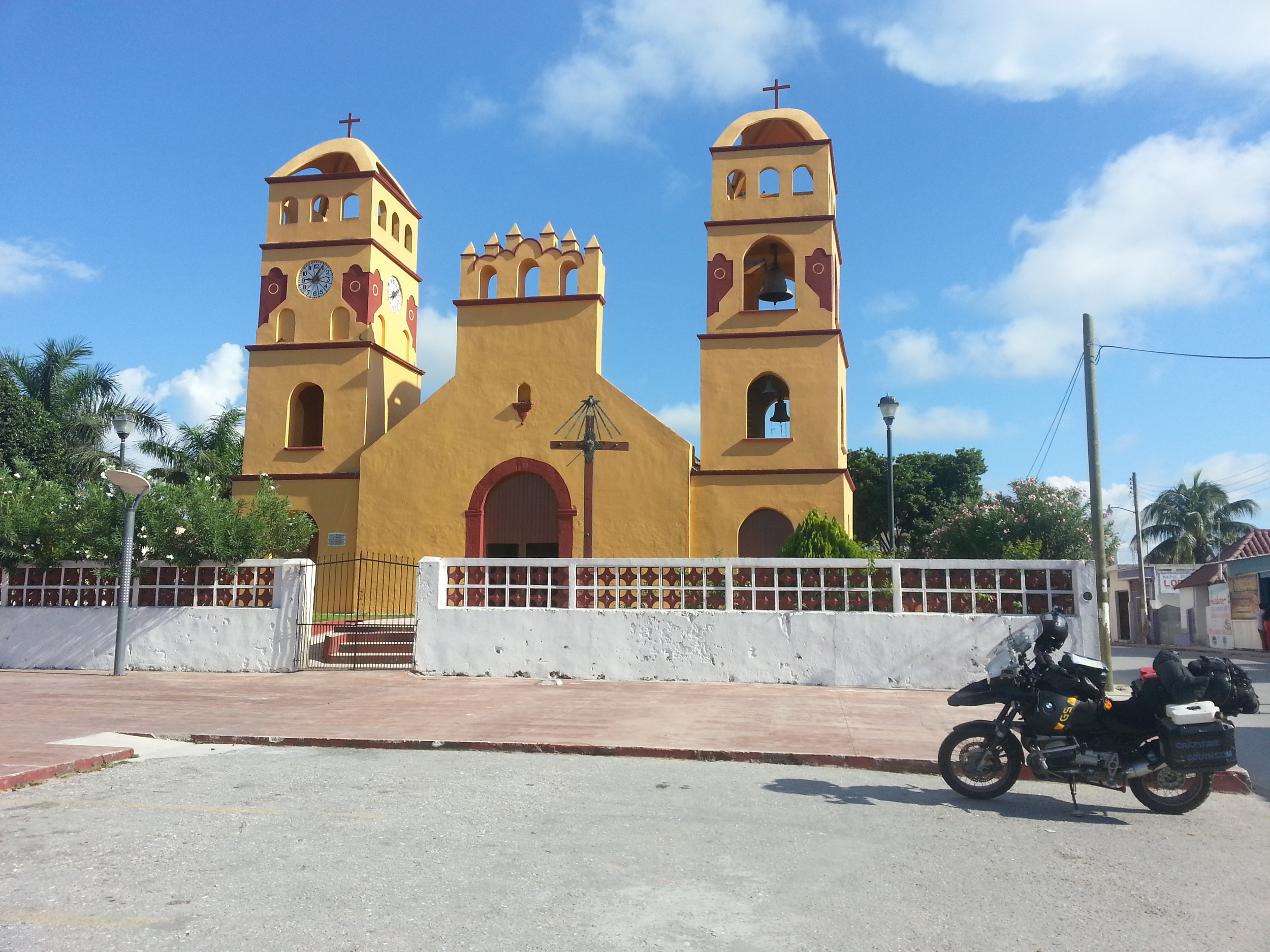 Yep...Sabancuy has a church.