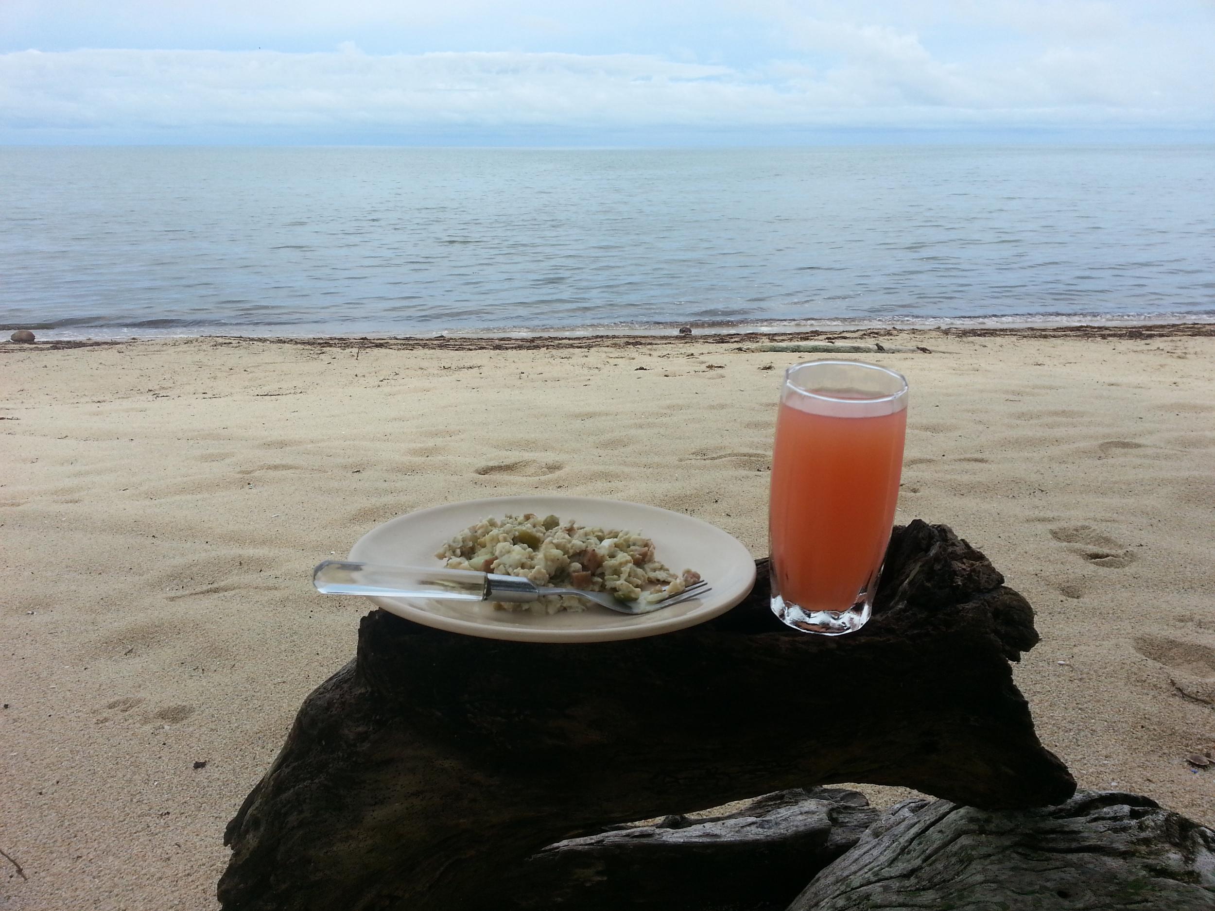 Breakfast is (self) served