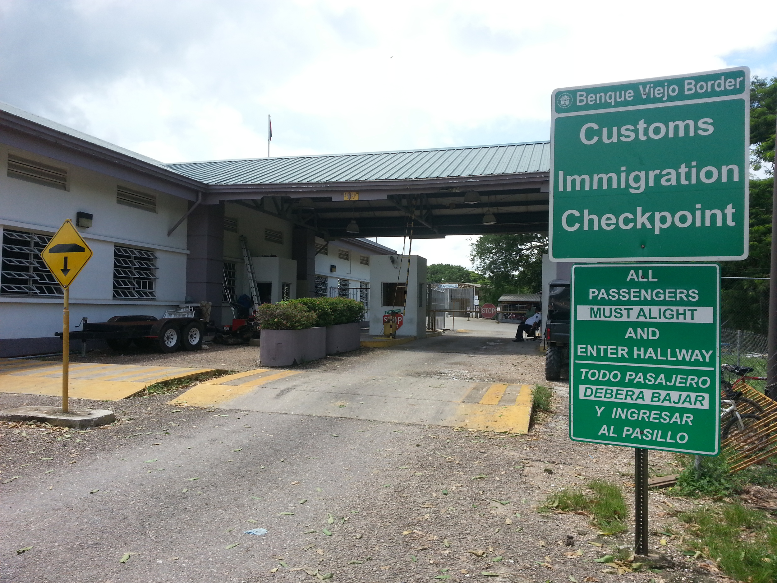 Border check point