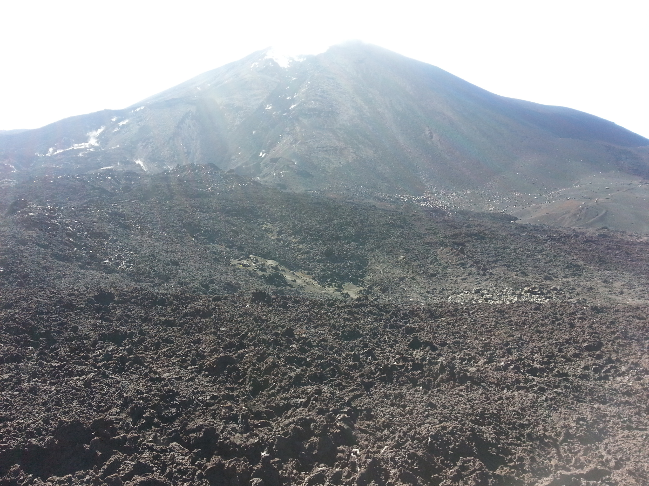 Volcano Pacaya last erupted in May 2014...