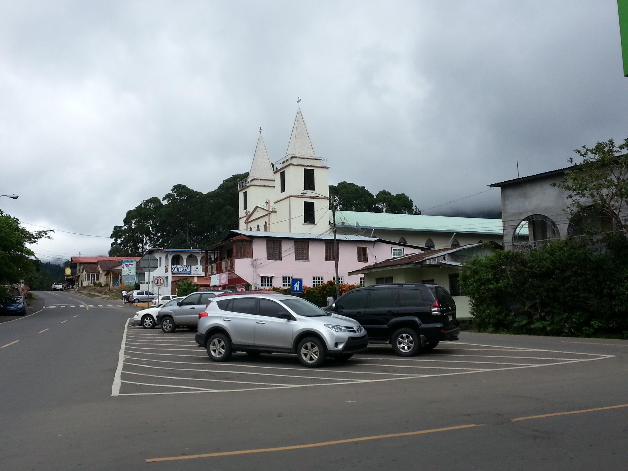 Boquete does have a church