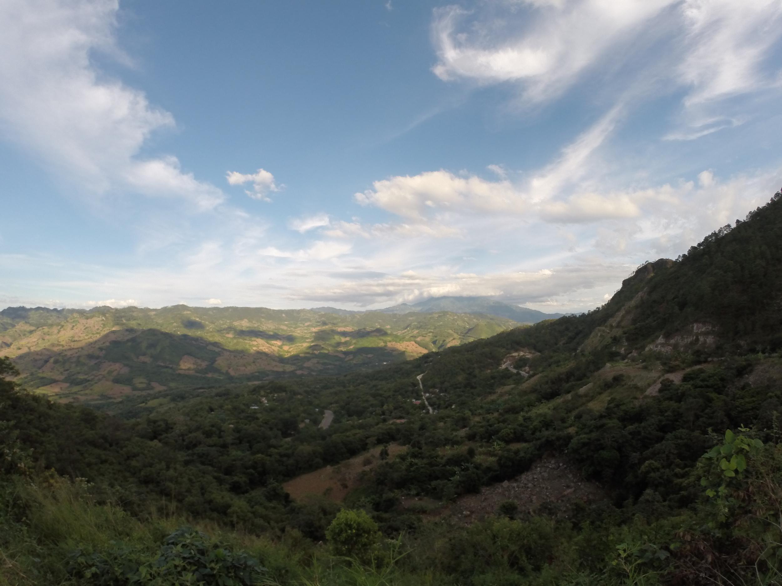 Somewhere in Honduras...