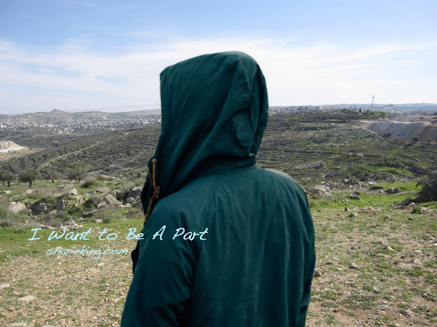 I took the picture of this scenery in Israel. It is believed to be the location of the Shepherd's Field where they saw the star.