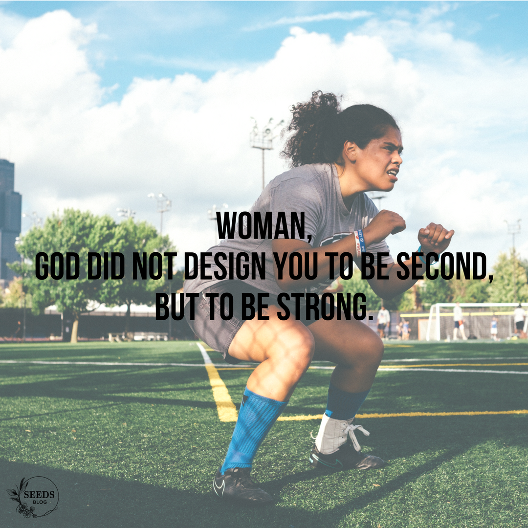 Woman, God did not design you to be second, but to be strong..png