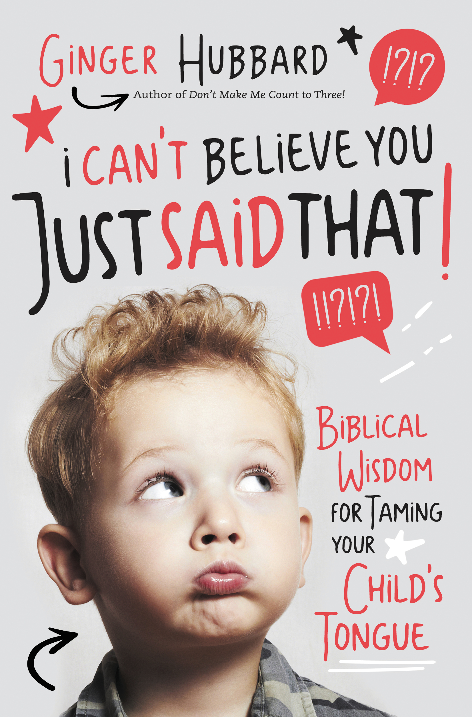 For more information on cultivating unity among siblings, order Ginger's new book I Can't Believe You Just Said That: Biblical Wisdom for Taming Your Child's Tongue This revolutionary book lays out a practical, three-step plan to help parents reach beyond the behaviors with which siblings struggle—such as tattling, bickering, and blame-shifting—to address their hearts.