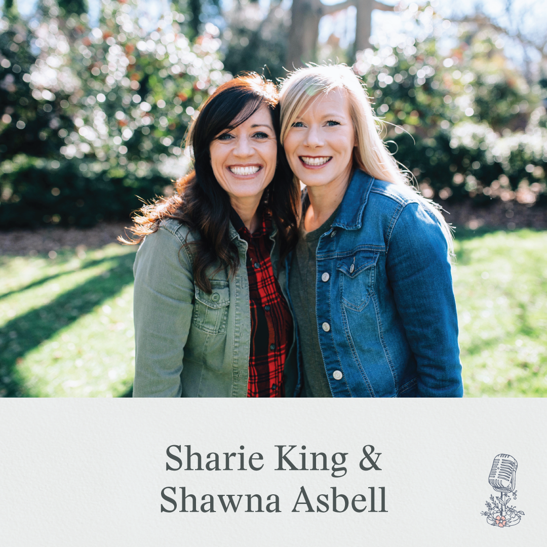 "Episode 38: Using Mistakes to Give Others Faith. Sharie and Shawna Asbell discuss how to use our mistakes to give others faith and guidance in their faith journey. This is the third episode in our Season on Ruth, and this episode focuses on why Boaz, a prominent and influential Jewish man, was able to see his own strength of character in Ruth, an immigrant, childless widow from a ""lesser"" socioeconomic status. Shawna shares how we don't have to be ashamed of who we are, even the most shameful parts."