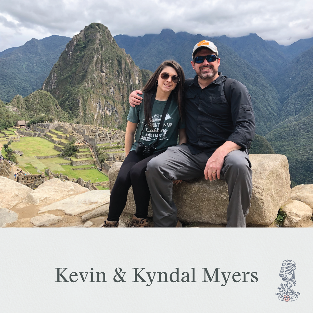 Sharie asks Kevin and Kyndal Myers how the Lord broke their heart for missions abroad. Kevin and Kyndal both tell stories of their trips with Compassion International, where Kevin serves as a senior director.