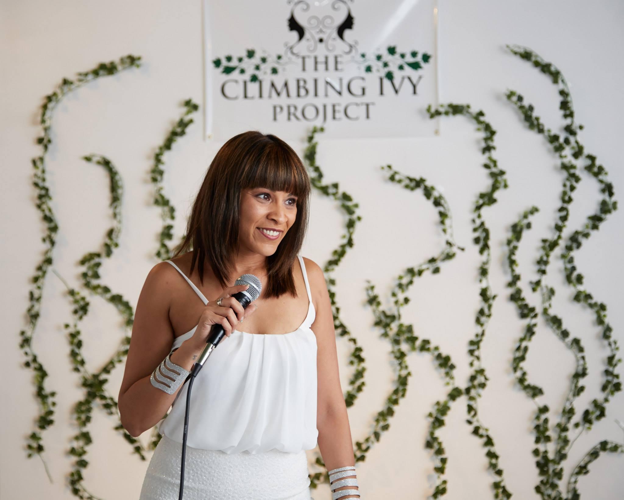 True Rodriguez Author of Climbing Ivy