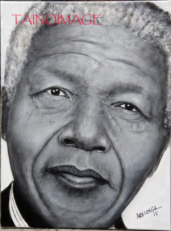Nelson Mandela by TainoImage