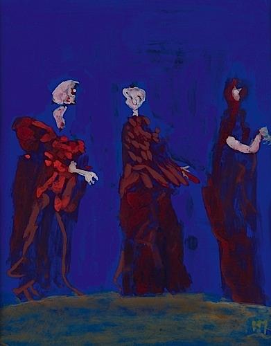 Les Trois Graces by Henri Michaux