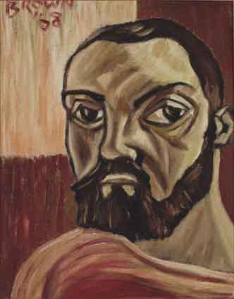 Self Portrait by Christy Brown