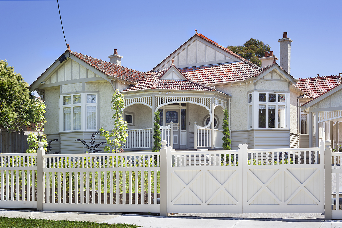 Heritage home decorative timber verandah fence and gates.jpg
