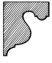 Eaves Bracket    Product Code:  EB2  Dimensions:  140 x 190 x 42 mm