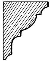 Eaves Bracket    Product Code:  EB3  Dimensions:  140 x 190 x 42 mm
