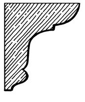 Eaves Bracket    Product Code:  EB4  Dimensions:  140 x 190 x 42 mm