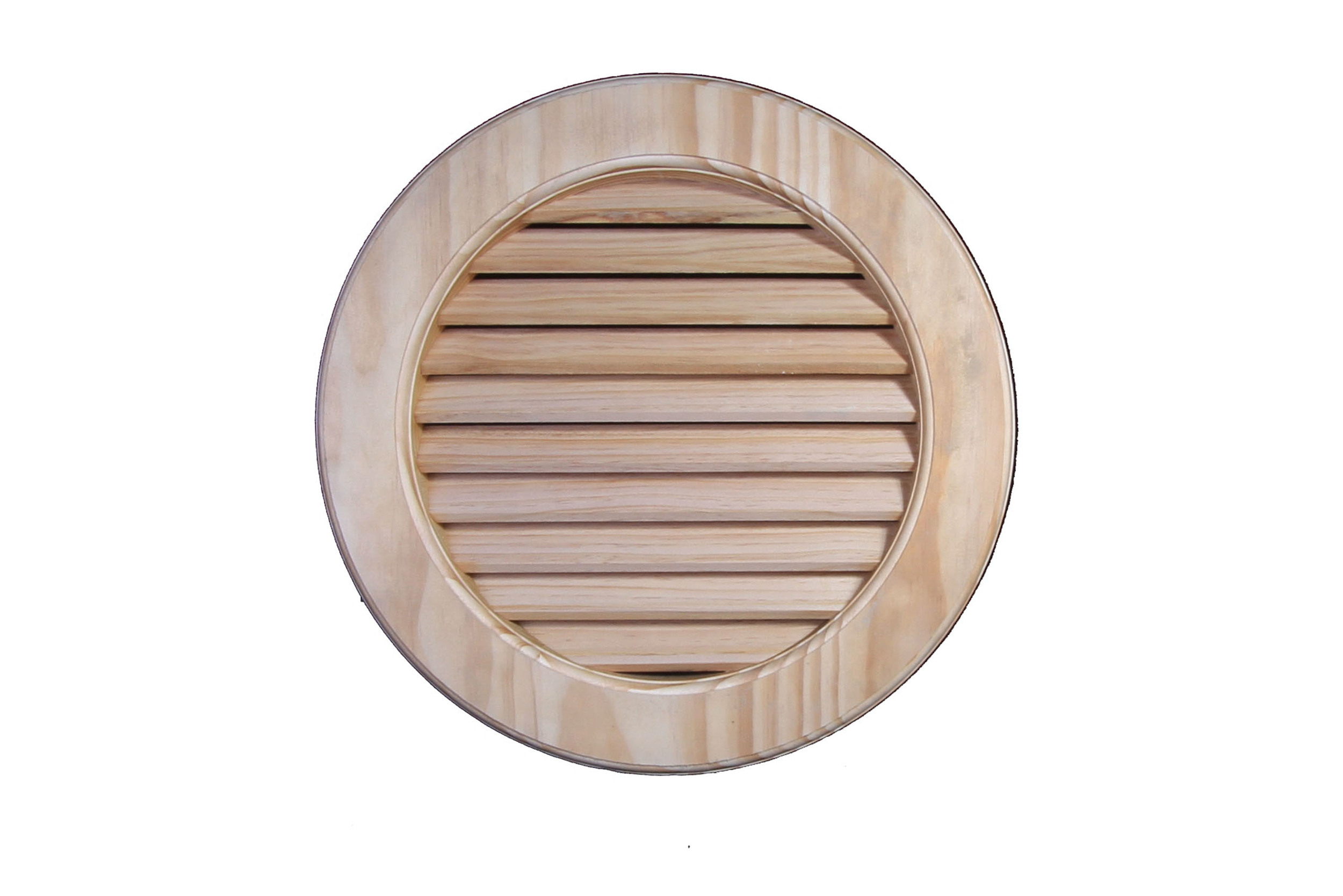 Heritage Timber Gable Vent - GVRND450