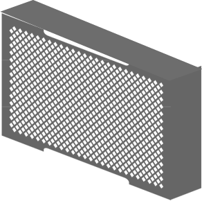 Radiator Cover    Product Code:  RDCV  Dimensions:  MADE TO ORDER   Price: Given Upon Request