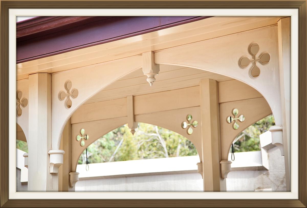 Timber Arches - External