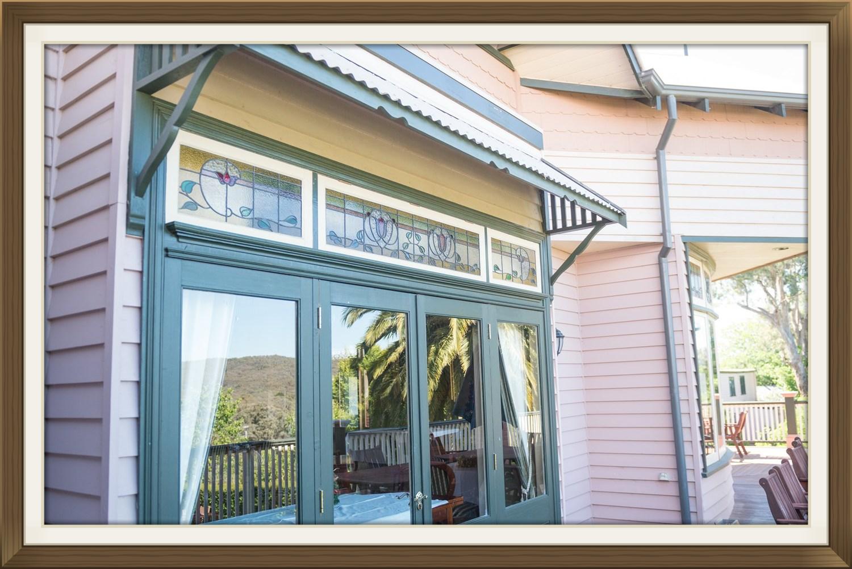 Timber Window Canopies