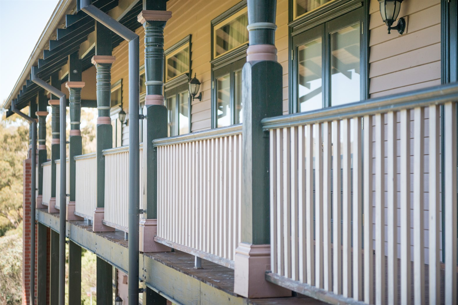 Heritage Timber Verandah Post