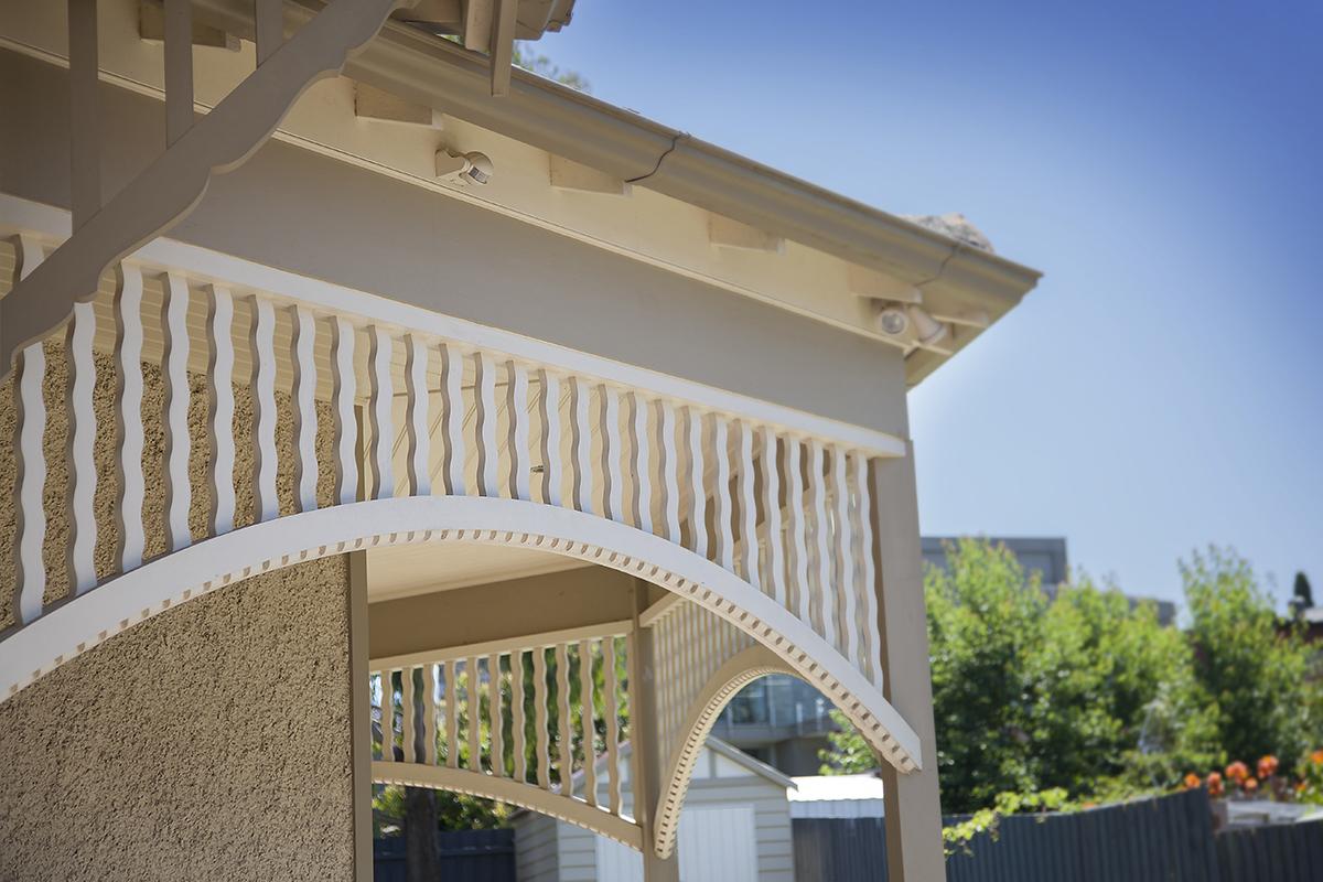 Decorative Timber Arches External