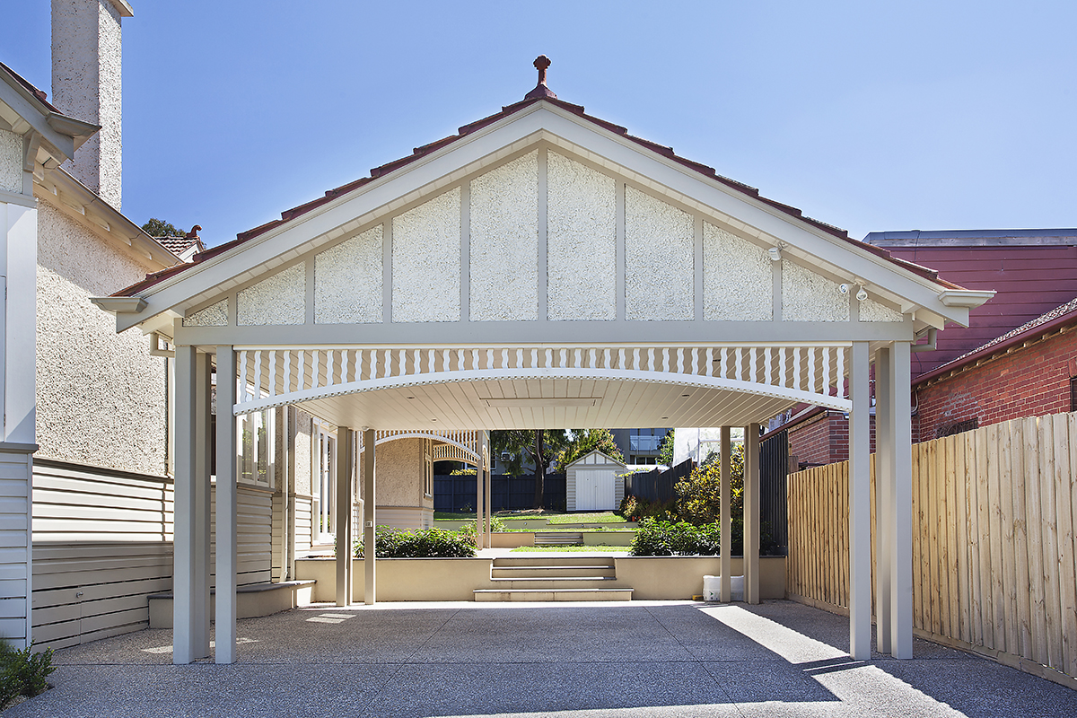 Period Timber Carports & Garages