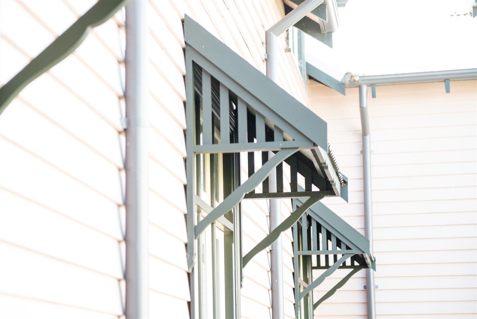 Heritage Timber Window Canopies