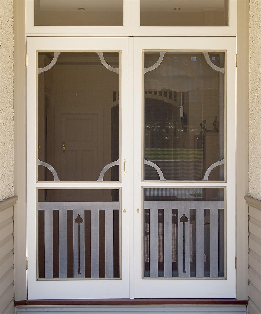 Period Timber Screen Doors