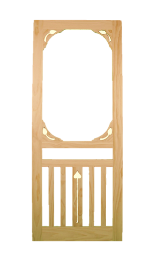 Screen Doors    Product Code:  SD5  Dimensions:  MADE TO ORDER   Price Available Upon Request