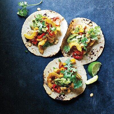 Must Try Winter Squash Recipes - Delicata Tacos - DIABLO MAAZINE, 2016