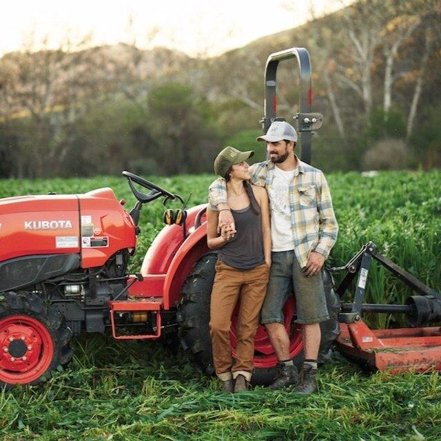Meet the Modern Farmers: Helena & Matthew - MODERN FARMER MAGAZINE, 2018