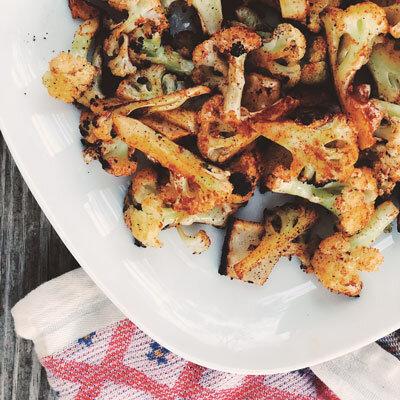 Roasted Harissa Cauliflower - DIABLO MAGAZINE, 2019