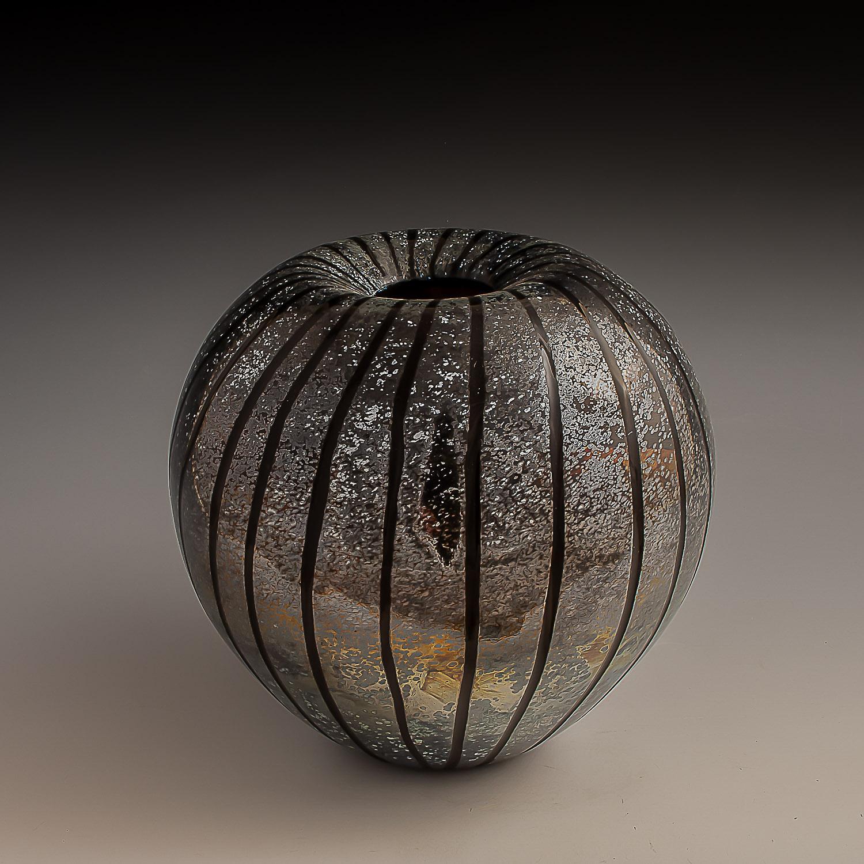 seed vase,  round